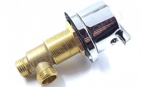 Вентиль врезной SW312 для подачи воды на борт ванны