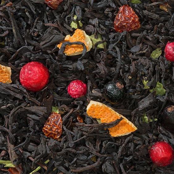 Витаминный - черный чай с натуральными добавками