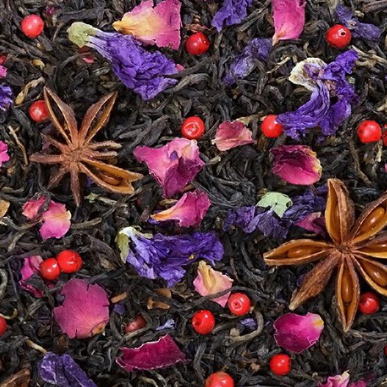 Восточное наслаждение Масала  - черный чай с натуральными добавками