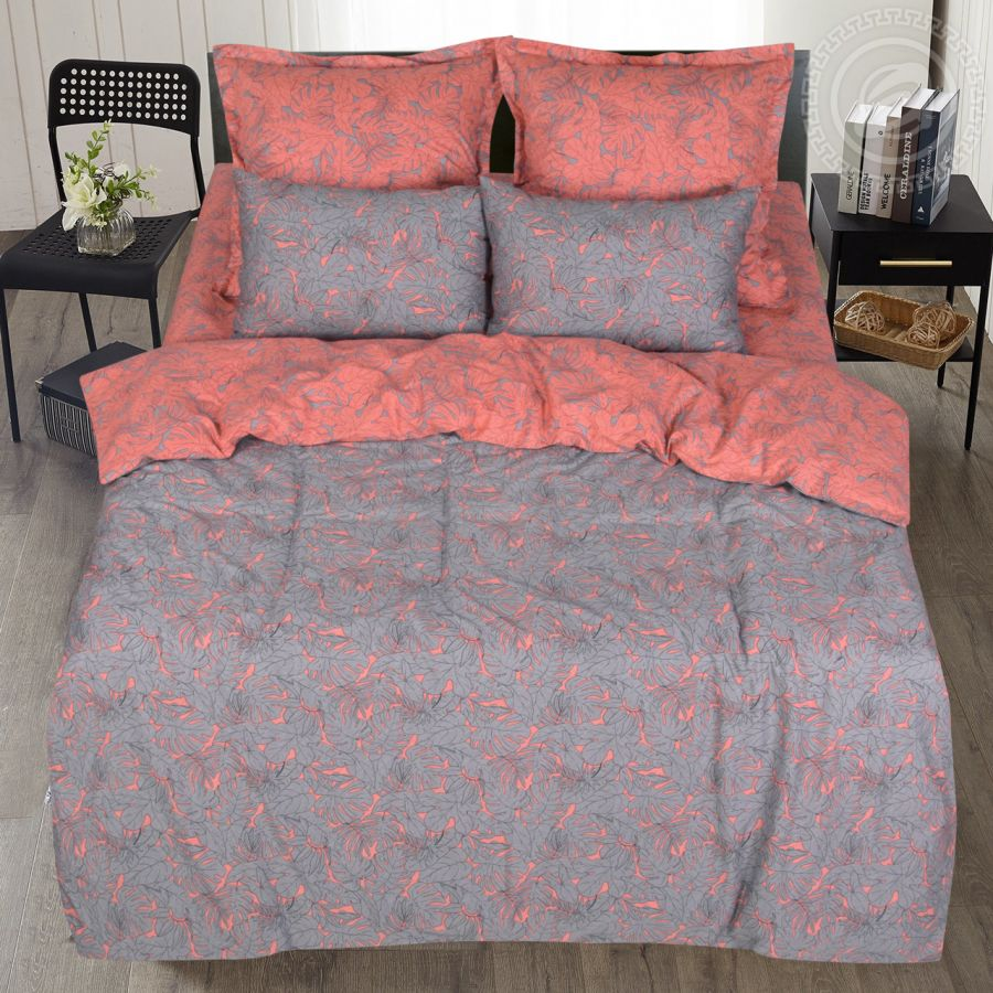 «Самира» (Premium) постельное белье Сатин 2-х спальный с евро