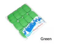 Снежный шторм (квадратики) (SnowStorm) - зеленый