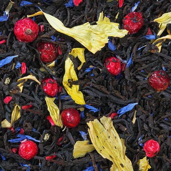 Граф Румянцев - черный чай с добавками