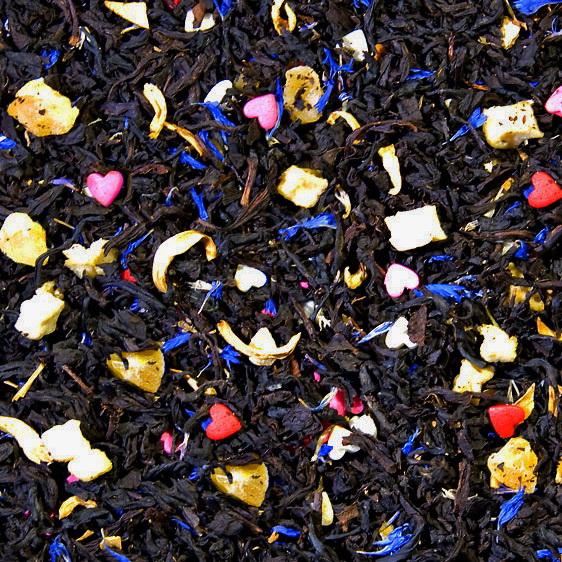 Дворцовые тайны - черный чай с натуральными ароматизаторами.