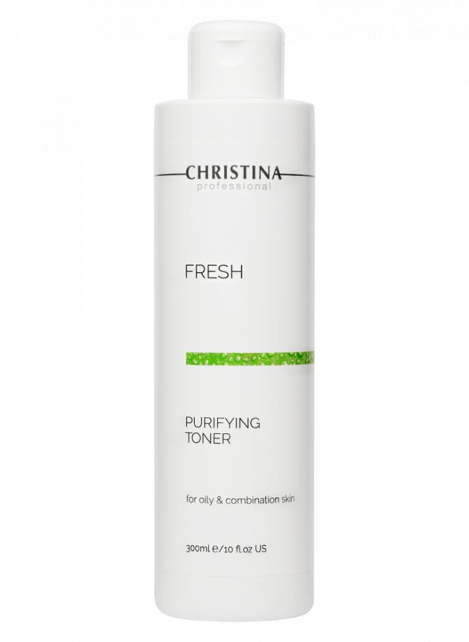 Очищающий тоник для жирной кожи лица Christina (Кристина) 300 мл