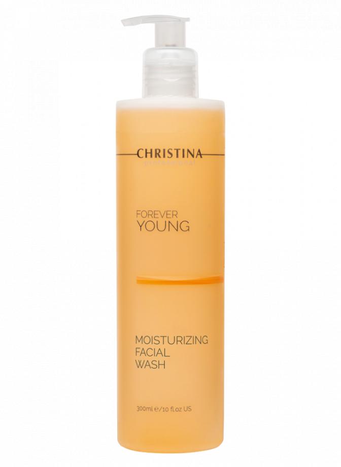 Увлажняющий гель для умывания pH 7,8-8,8 для лица Forever Young Christina (Форевер Янг Кристина) 300 мл