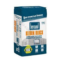 Кладочная смесь для ячеистых блоков Kleben Block Bergauf 25 кг