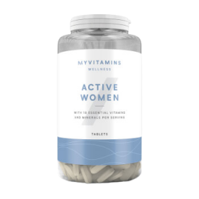 Active Woman Мультивитамин 120 табл. Myprotein (Великобритания)