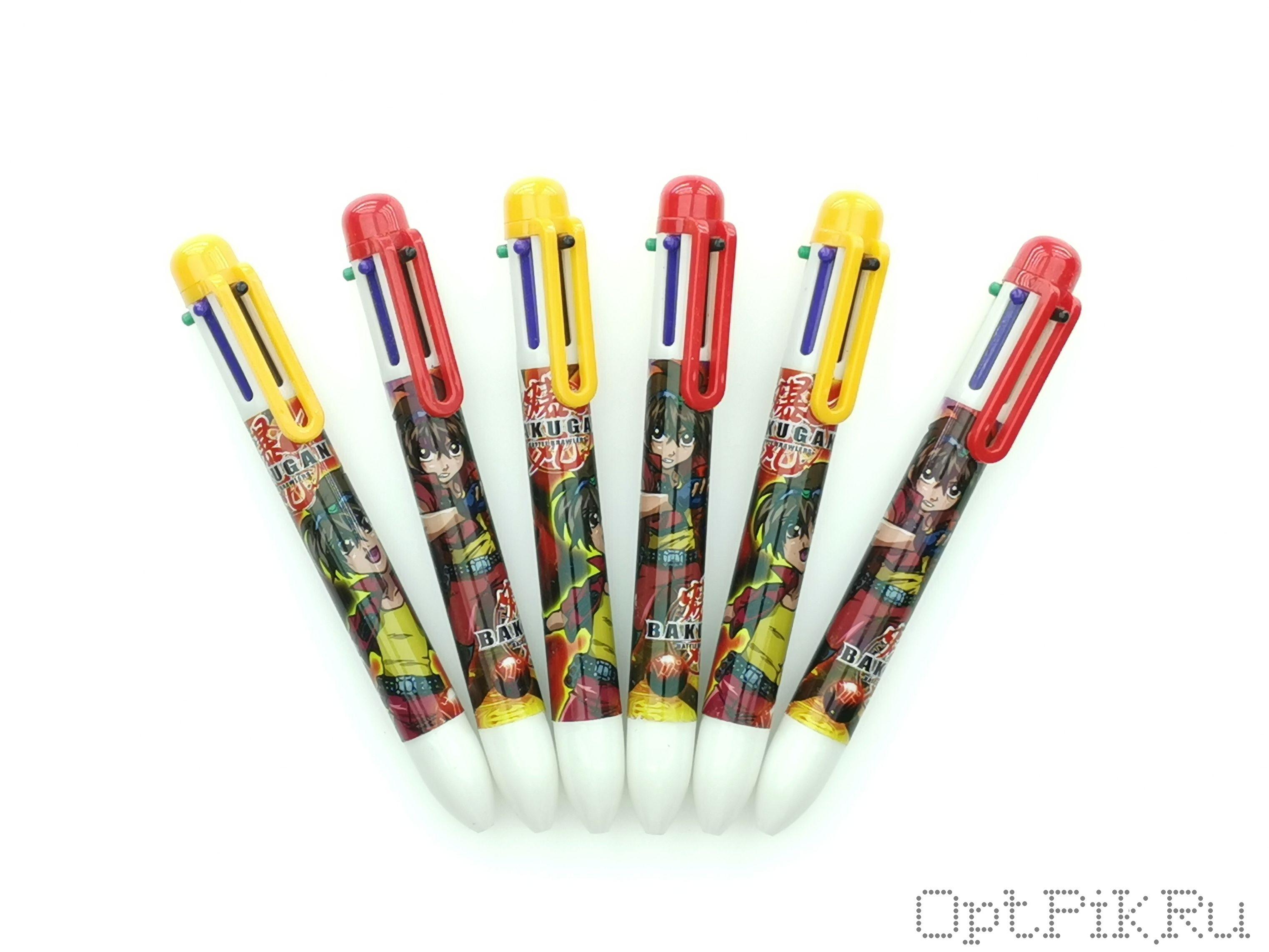 Ручка Bakugan 6 цветов