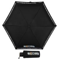 Зонт складной Moschino 8123-SuperminiA Toy Robot Black