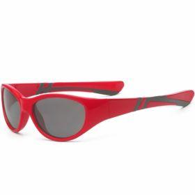 Солнечные очки для малышей Real Kids Discover 7-12 лет красный/черный