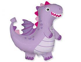 """Фигура Дракон фиолетовый, 36"""" / 92 cм"""