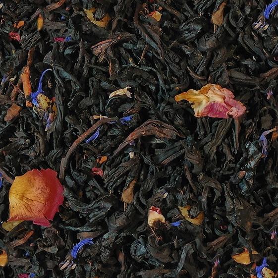 Искры шампанского - черный чай с натуральными добавками