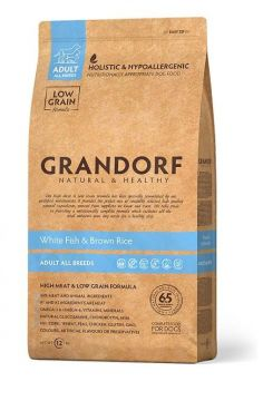ГРАНДОРФ белая рыба с рисом для всех пород собак (GRANDORF White Fish&Rice).