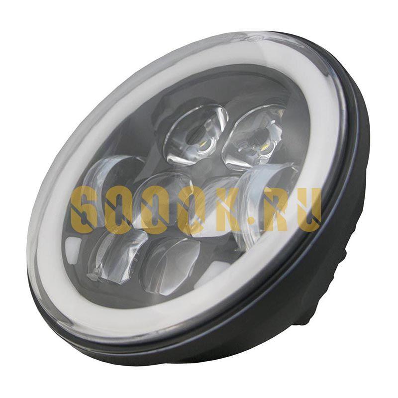 Светодиодные фары головного света 5,75 дюймов 40 Ватт 6K-DLT505BL