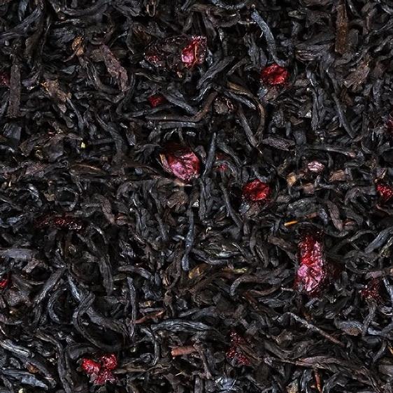 Вишня в шоколаде - черный чай с натуральными добавками
