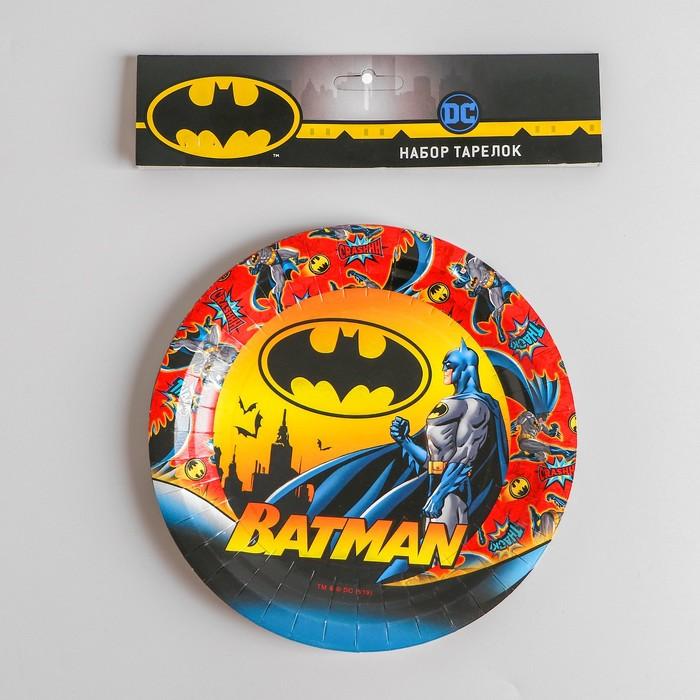 Тарелки Бэтмен
