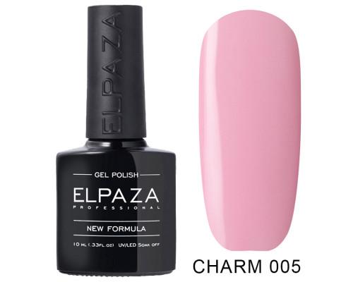 ELPAZA ГЕЛЬ-ЛАК  Charm 005 Влечение (Пастельный розовый) 10 мл