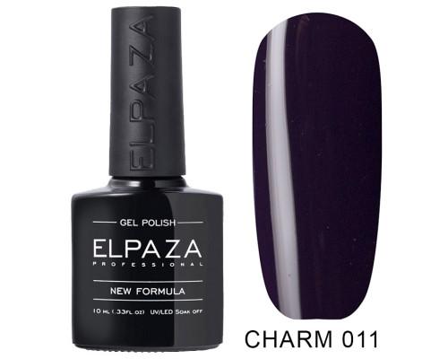 ELPAZA ГЕЛЬ-ЛАК  Charm 011 Одиссея (Темно-фиолетовый) 10 мл