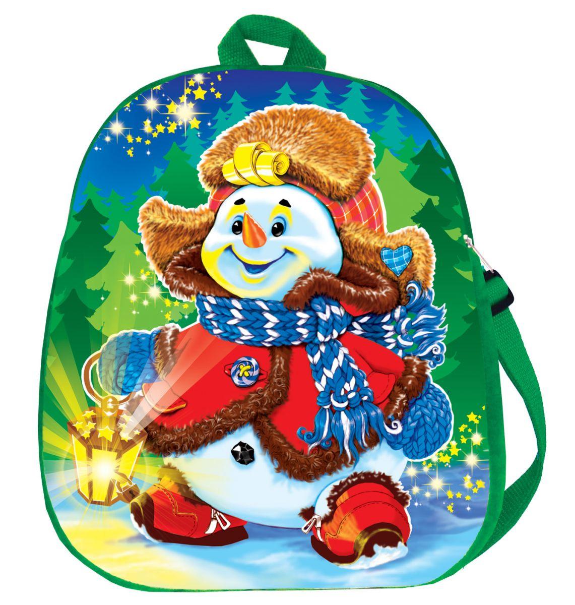 рюкзак Снеговик 1500 грамм