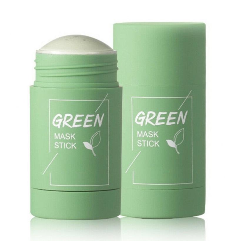 Маска-стик с глиной и зелёным чаем от угревой сыпи Green Mask Stick 40гр (u150)