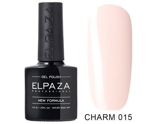 ELPAZA ГЕЛЬ-ЛАК  Charm 015 Фея (светло-розовый) 10 мл