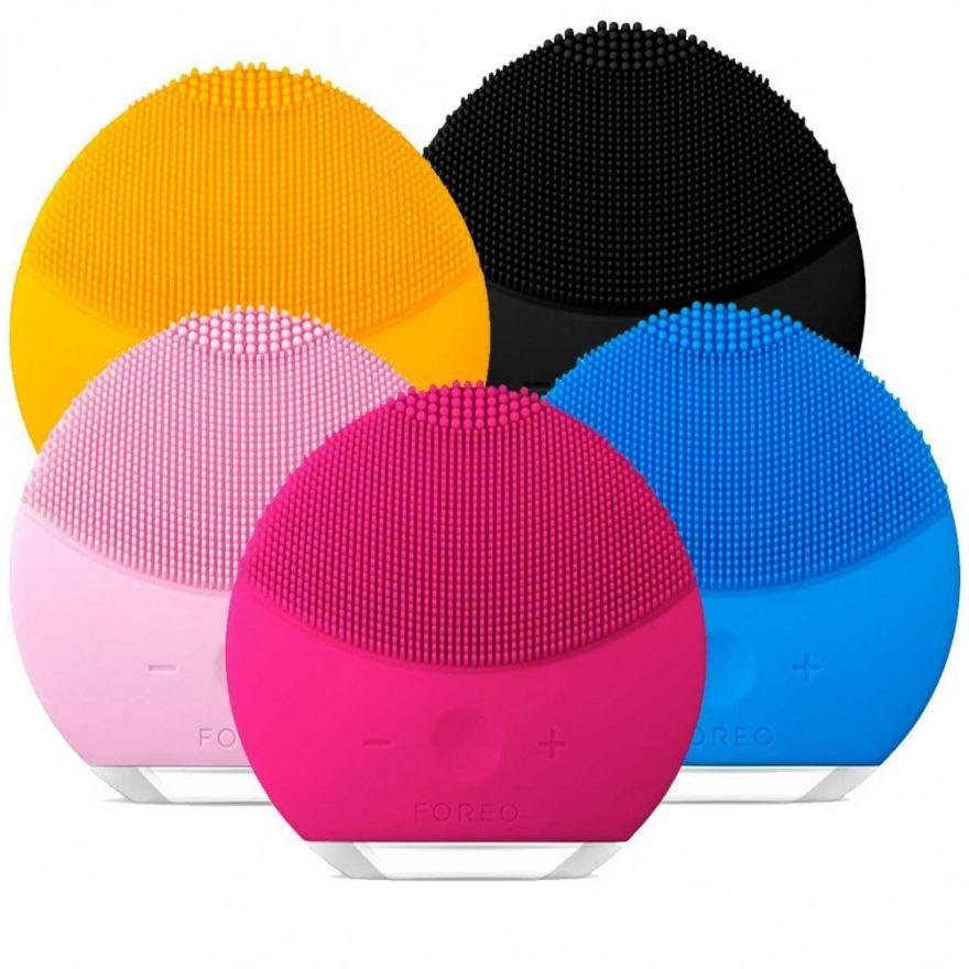 Силиконовая щетка-массажер для чистки лица Forever Luna (цвета в ассортименте) (1326200)