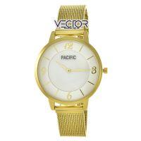 Pacific X6179 корп-золот циф-перл/желт сетка