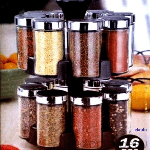 Набор для специй 16 Jars Spice Rack Set, арт. SJ3218