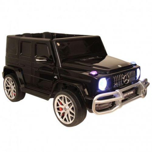 Детский электромобиль Mercedes-AMG G63 4WD (S307) черный глянец