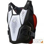 Fox Raceframe Impact SB CE D3O White жилет защитный