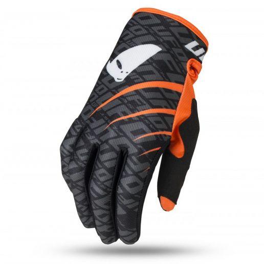 UFO Skill Indium Glove Black перчатки для мотокросса, черные