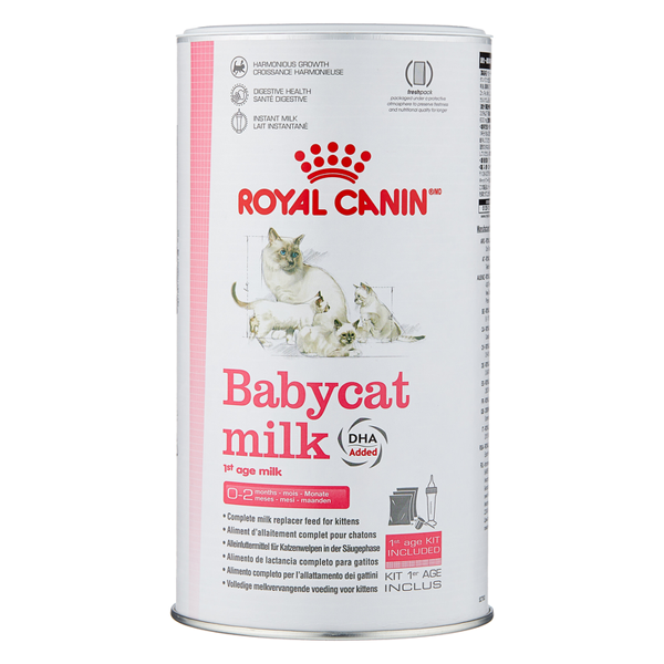 Сухая молочная смесь для котят Royal Canin Babycat Milk при чувствительном пищеварении 0.3 кг