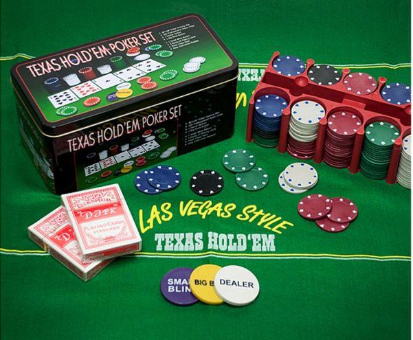 Набор для игры в покер Texas Hold'em Poker Set