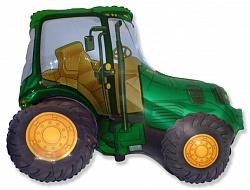 """Трактор, Зеленый, 1 шт., 14""""/ 36 см"""