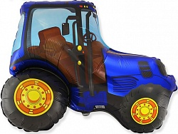 "Трактор, Синий, 1 шт., 14""/ 36 см"