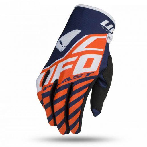 UFO Skill Vanadium Glove Neon Orange перчатки для мотокросса, оранжевые
