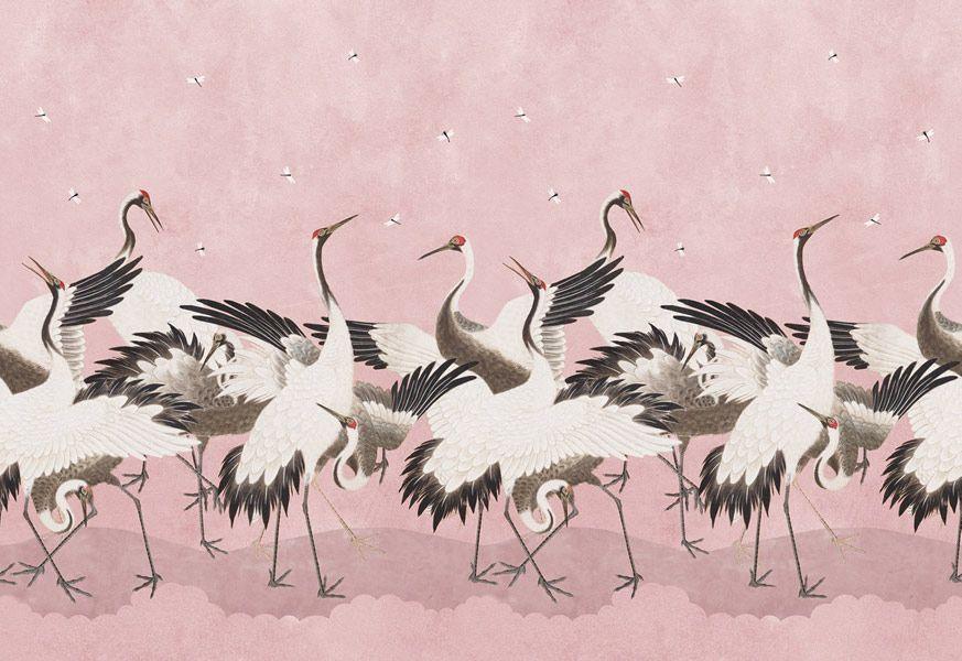Dancing Cranes, Rose