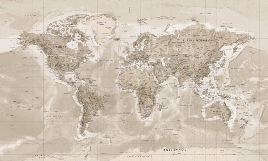 The Wide World Sepia