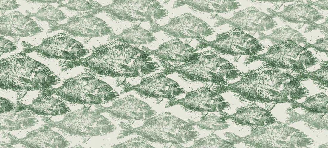 School Of Fish Green
