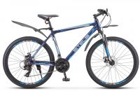 "Горный (MTB) велосипед STELS Navigator 620 MD 26 V010 (2018) 17"" Тёмно-синий"