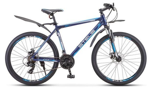 """Велосипед Stels Navigator 620 MD 26"""" V010 14"""" Тёмно-синий (LU088804)"""