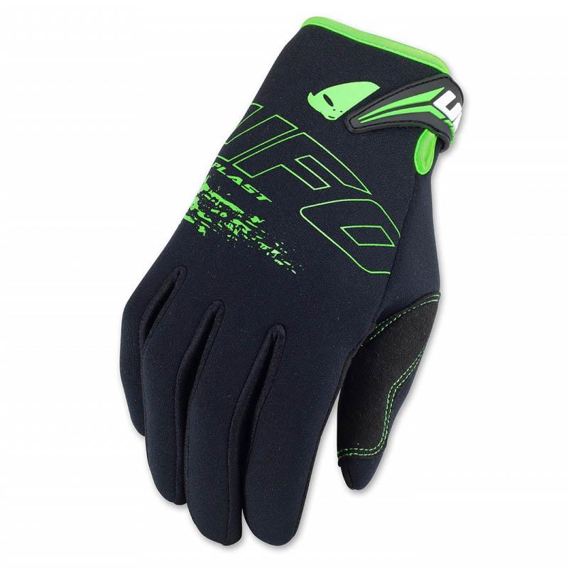UFO Neoprene Glove Black перчатки для мотокросса, черные