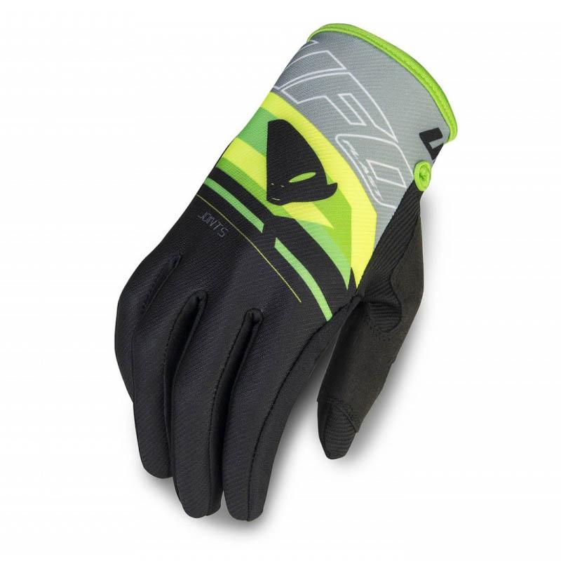 UFO Joints Glove Grey/Black перчатки для мотокросса, черно-серые