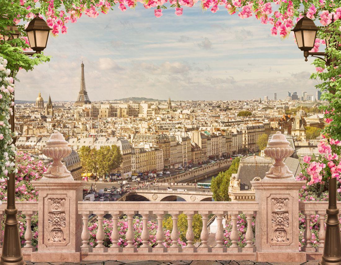 Балкон с видом на Париж 14-68