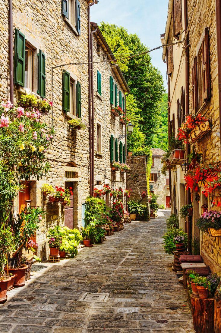 Улица в Италии 22-061