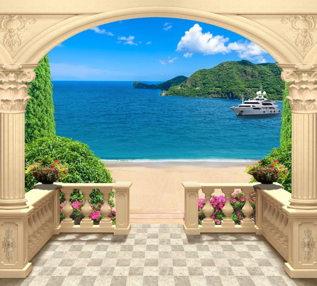 Солнечный день на балконе 1489-ML