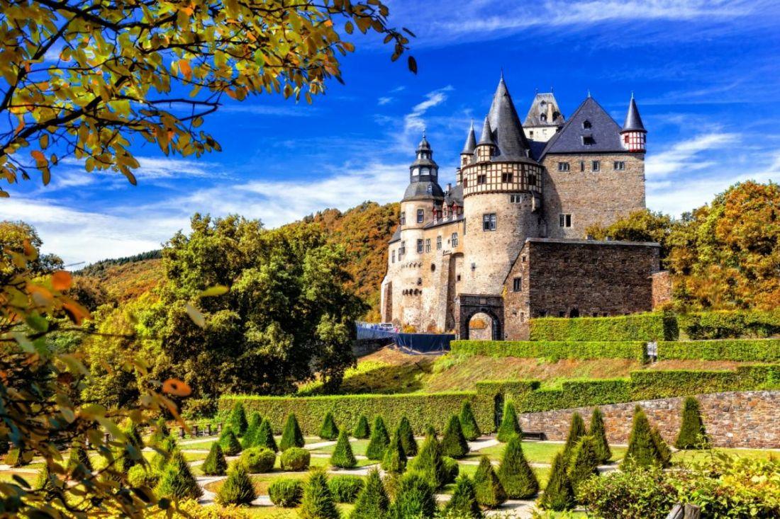Замок Бюрресхайм Германия 22-086