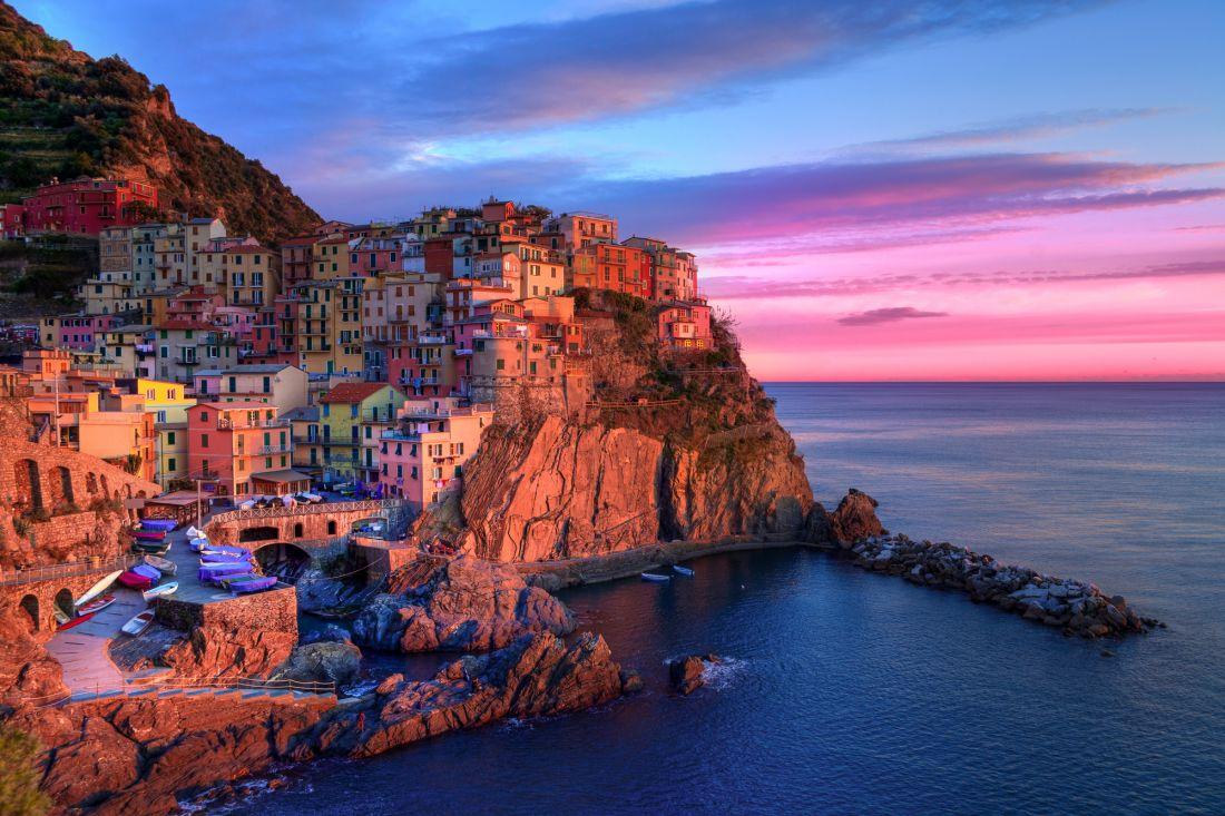 Рыбацкий городок в Италии 2-1009