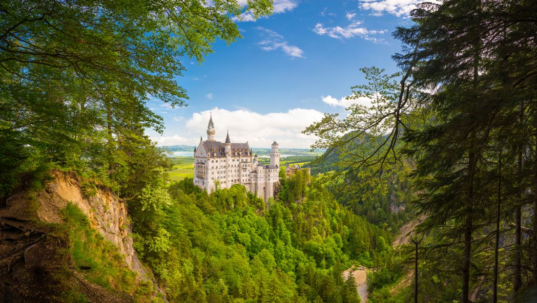 Замок Нойшванштайн Германия 22-080