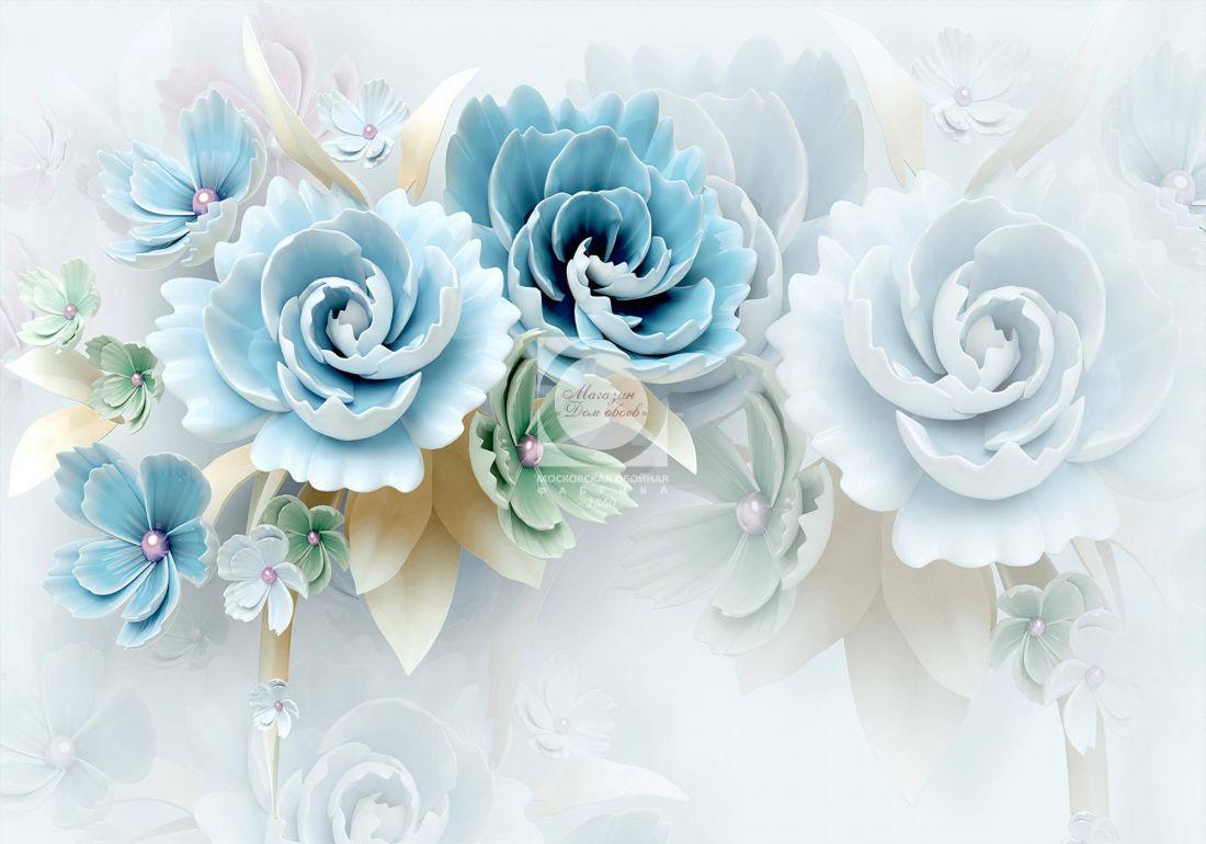 Цветы 3D 6-226